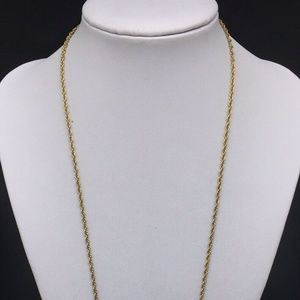 Joan Rivers Jewelry - Joan Rivers Gold Faberge Glass Pendant Necklace